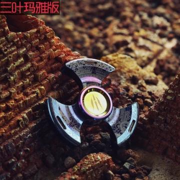 异界 指尖陀螺EDC指间手指螺旋陀螺魔幻钛合金成人儿童减压玩具