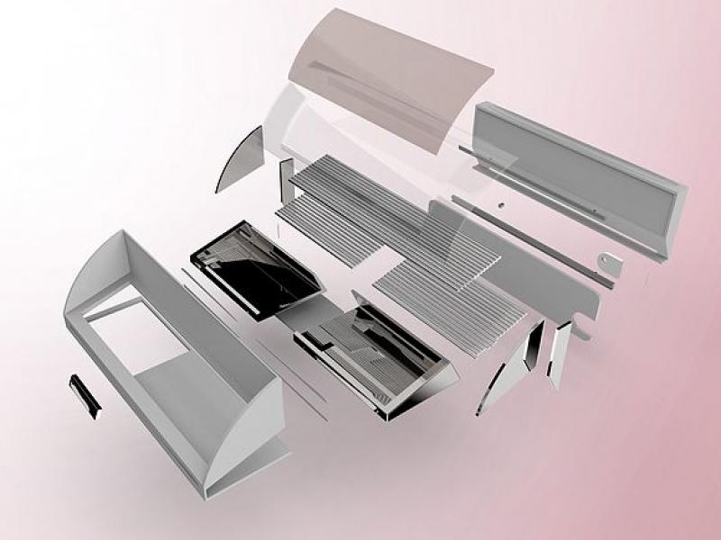 【产品外观设计】产品外观建模设计及渲染处理,设计服务>>产品设计>>设备设计