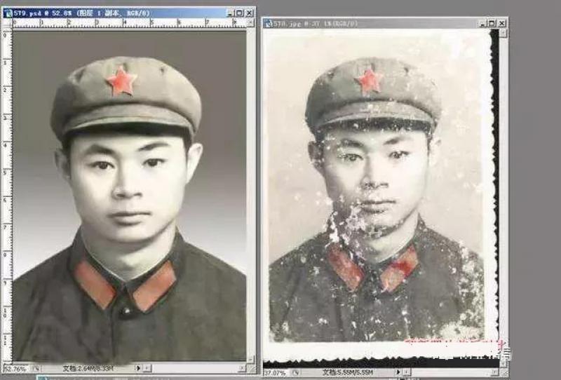 干货:新手也可以做的老照片修复项目