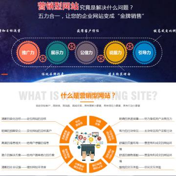 企业官网,网站建设和开发【动力无限|线上服务】