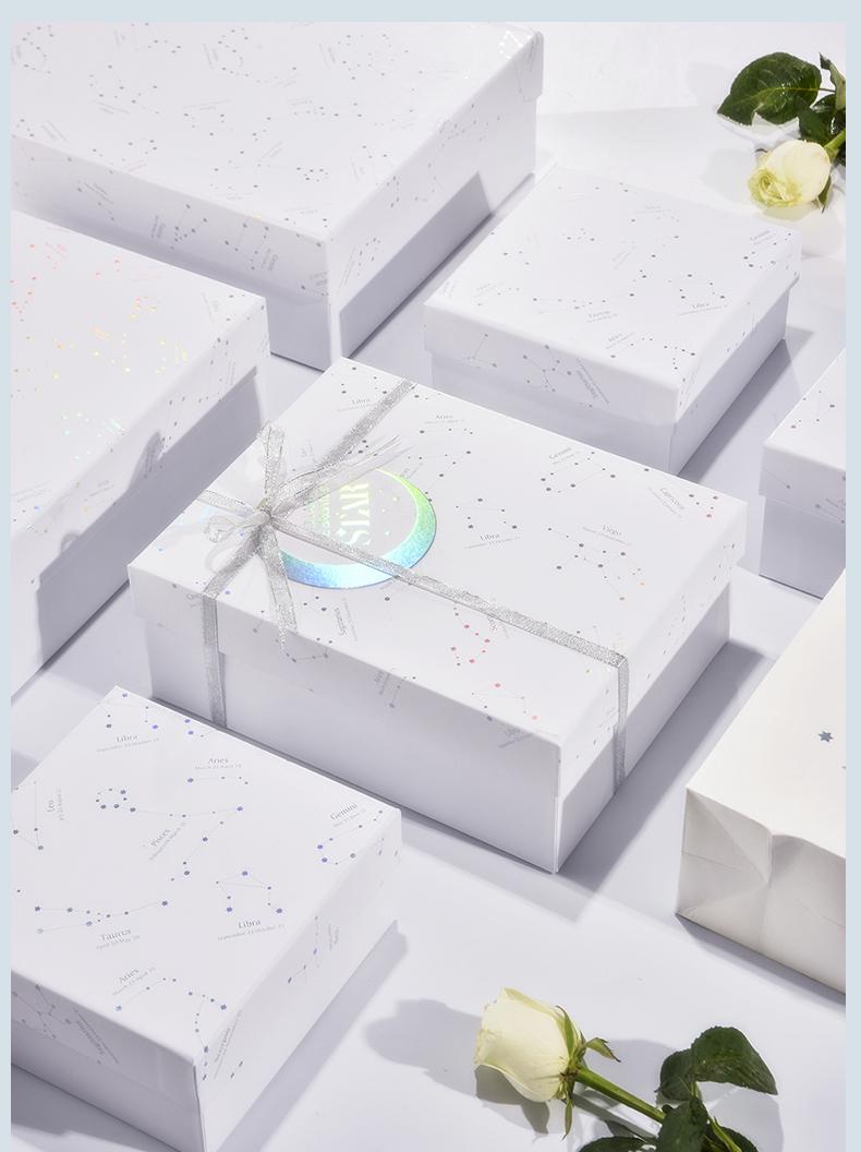 【小乔印象设计联盟】正方形礼品盒|加大伴手礼礼物盒|大号礼物包装盒|生日送礼盒包装盒子_设计服务>>包装设计>>礼盒包装