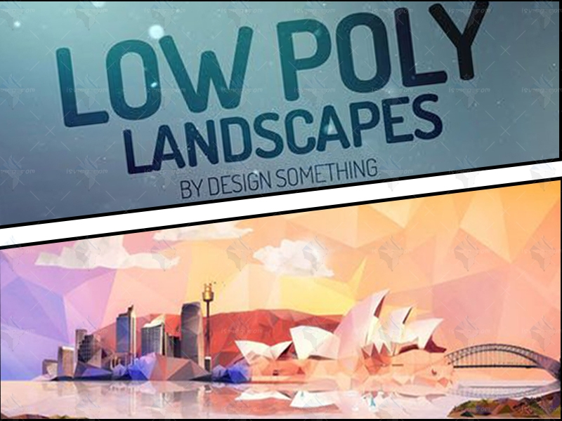 【冰源视觉】Lowpoly简化艺术动画制作,技能专长>>图形动画>>动画设计