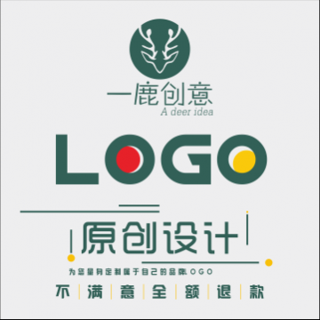 LOGO设计,英文字体设计【一鹿创意|线上服务】