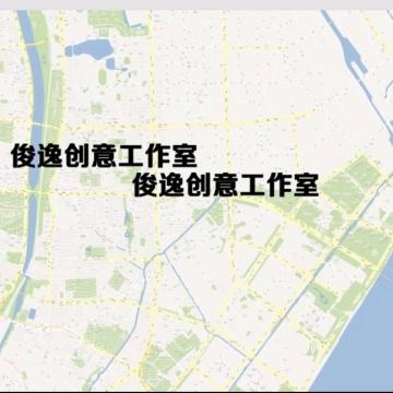 高缩放城市规划地图、楼盘地图、游戏地图、企业景区地图设计和地图商家标注