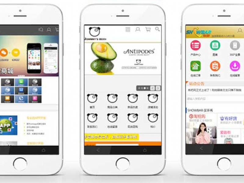 【秋痕的店】手机网站、自适应网站及小程序开发,软件开发>>移动应用>>wap应用