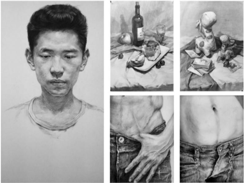 【绿丫合作社】人物照片 铅笔素描 手绘定制,个性服务>>网络手绘>>转手绘