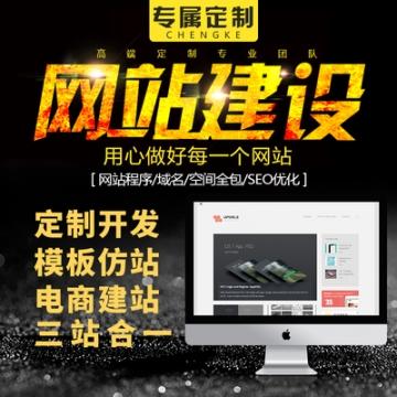 定制网站开发 h5 商城站 手机站