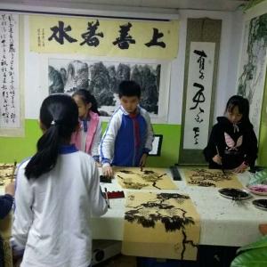 书画艺术工作室:书画艺术教育:(少儿培训、成人培训), 书画艺术销售:书画艺术接单、书画艺术品销售(纯手绘原创作品)、墙绘接单、徽墨块销售