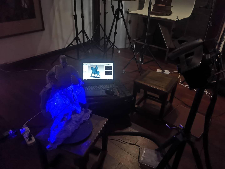 【三维扫描】手板、文物类三维扫描