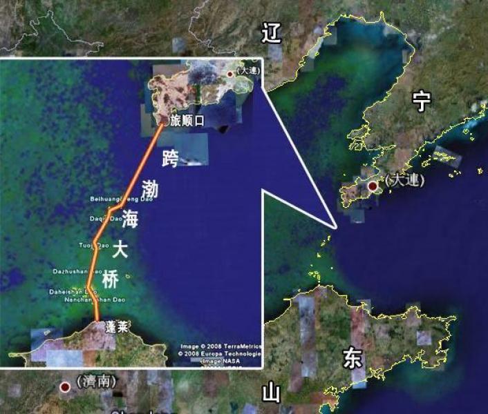 渤海海峡通道为啥至今未开建?有个挑战难解决,环渤海高铁更实际