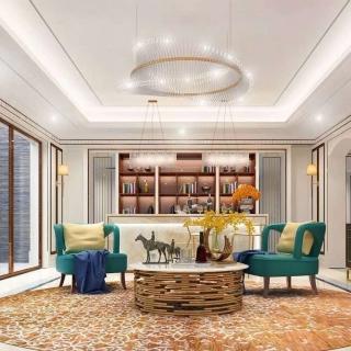 HE室内设计经营服务: 设计公司/设计师 客厅设计
