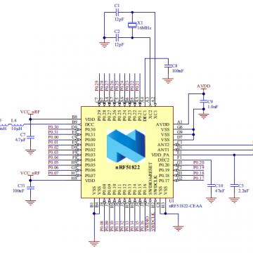 NRF51822系列芯片的蓝牙无线通信系统产品开发【赛程电子科技有限公司|线上服务】