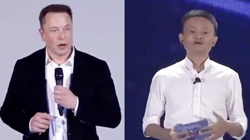 """世界人工智能大会:马斯克马云将上演""""双马""""对话"""