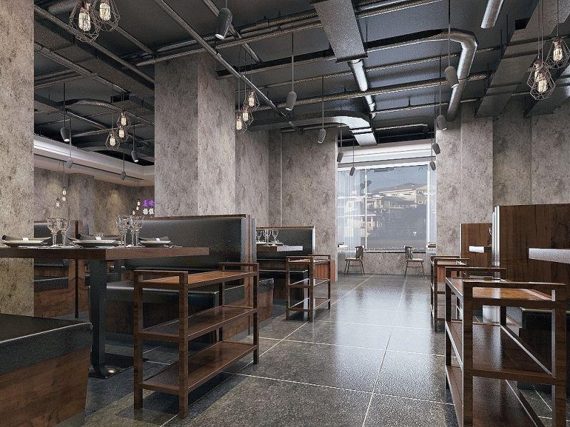 【KW设计小屋】制作各种风格的家装或工装效果图,家居服务>>空间设计>>店铺设计