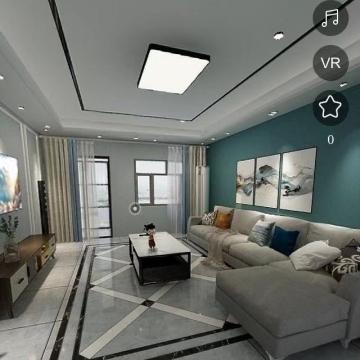 室内瓷砖背景墙铺贴设计效果图【阿鲍设计|线上服务】