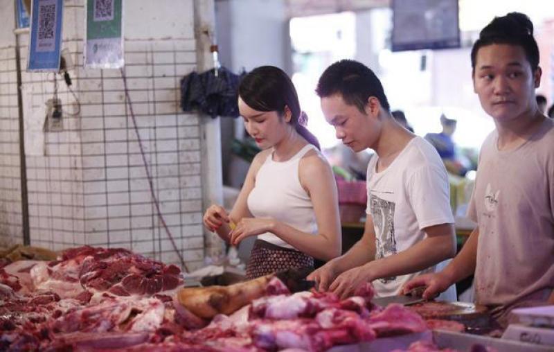 储备冻肉上市,猪肉价格出现回落,中秋节猪肉价格能降多少?
