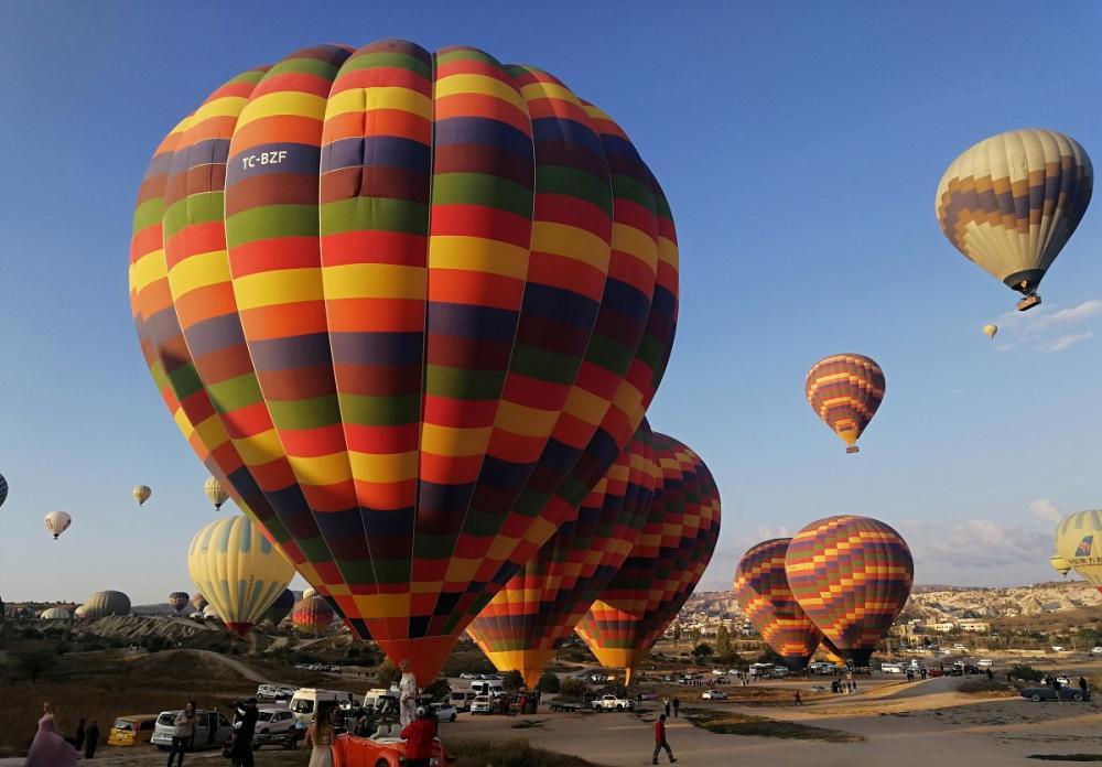 超浪漫!超唯美!土耳其卡帕多奇亚,热气球的天堂