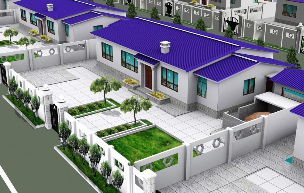 10套别墅效果图,最后1套,我服了,真的是建得起却住不起啊