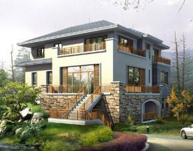 【浅夏丿初晴】10套别墅效果图,最后1套,我服了,真的是建得起却住不起啊