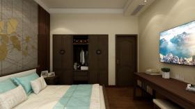 【折花载酒少年事】小墨说装修设计作品:290平米别墅,新中式装修风格
