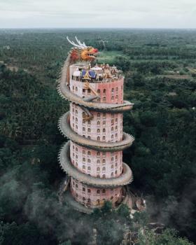 【姑娘你真美】摄影师捕捉亚洲最独特的寺庙,感受东方文化的魅力