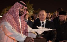 【甜软奶喘~】普京时隔12年访沙特 送老国王珍稀猎鹰后签下百亿大单