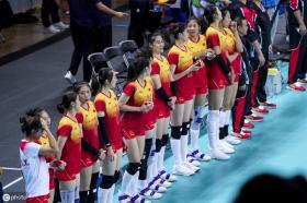 """为国争光!小苹果""""满分"""",军运会中国女排3-0完胜美国"""