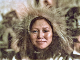 【耍大牌的小头目】三十年代阿拉斯加,北极地区黄种人