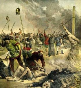 【橘生淮南】换个角度看历史,百年前明信片中的八国联军侵华事件