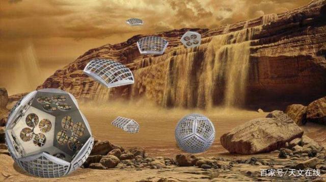 【抬头√那曙光】NASA概念设想了一个变形机器人来探索土星的卫星泰坦星