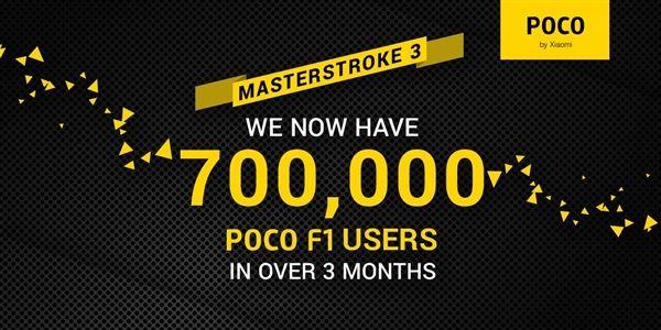 小米:POCOPHONEF1用户3月突破70万人_销售运营_品牌营销
