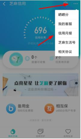 支付宝app里信用足迹的查看方法_软件开发_微信行业