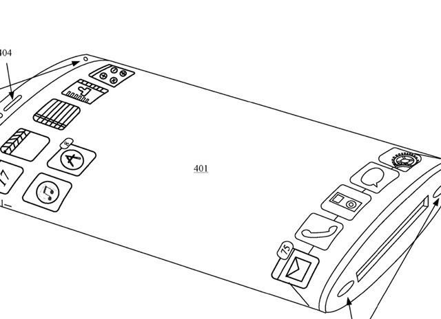 苹果新专利:iPhone将使用环绕式柔性显示屏_设计服务_产品设计