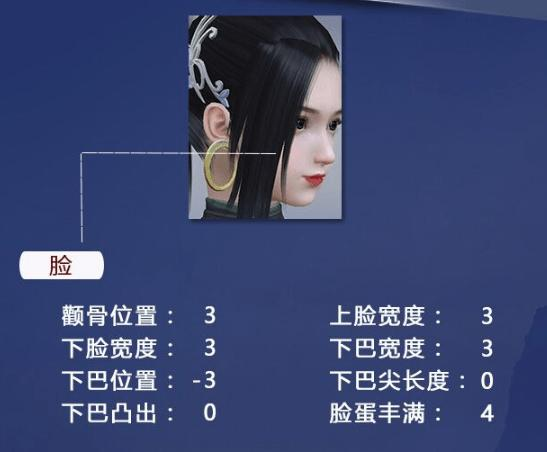 斗破苍穹斗帝之路美杜莎捏脸数据分享美杜莎捏脸数据一览_技能专长_美术制作