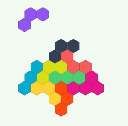 六边形拼图第18关怎么过六边形拼图第18关攻略步骤讲解_技能专长_图形动画-蚂蚜网(兼职|接单|私活|外包)