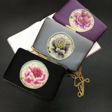 刺绣苏绣手拿包宴会包 单位外事出国送女士礼品涉外商务伴手礼物【创意生活时尚店|快递派送】