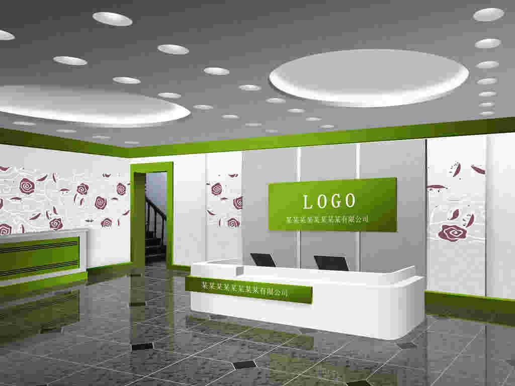 【广州博浩广告有限公司】公司形象墙 户外形象墙 户外壁画  _家居服务>>空间设计>>办公空间设计