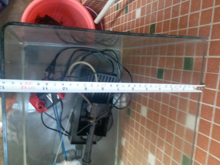 【 巨小萌宠物狗狗服务店】鱼缸 用了一年多,尺寸50x30x35,现在闲置出_二手市场>>宠物/园艺>>水族用品